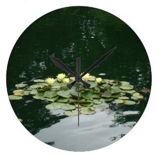 Waterlilies Clock