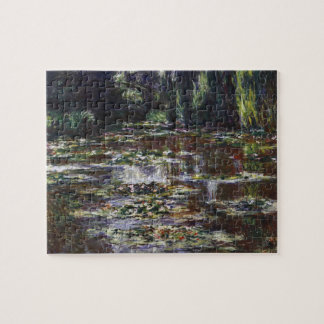 Waterlilies in Pond by Claude Monet, Vintage Art Jigsaw Puzzle