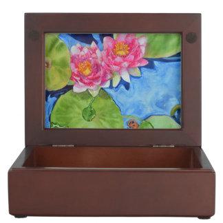 Waterlilies Keepsake Box
