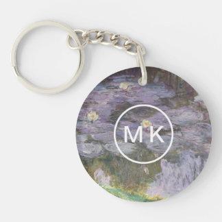 Waterlilies Keychain