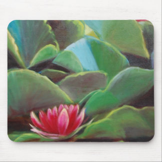 waterlilies mouse pad