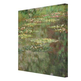 Waterlilies or The Water Lily Pond Nympheas Canvas Print