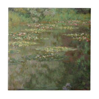 Waterlilies or The Water Lily Pond Nympheas Tile