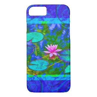Waterlily Lotus Blossom Blue Yogini iPhone 8/7 Case