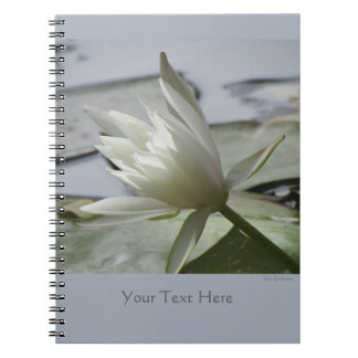 Waterlily Spiral Notebook 2