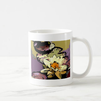 waterlily wild coffee mug