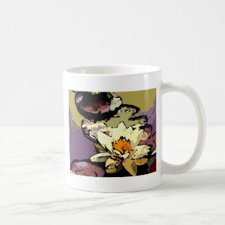waterlily wild coffee mug