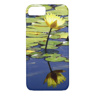 Waterlily with Reflection iPhone 7 Case