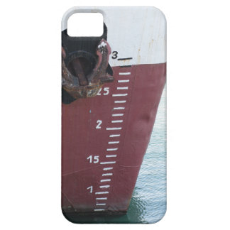 Waterline marked on the ship with scale numbering case for the iPhone 5