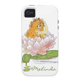 Waterliy, Lily pad customized fairy Case-Mate iPhone 4 Case