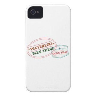 Waterloo Been there done that Case-Mate iPhone 4 Cases