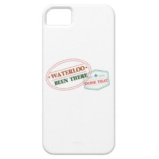 Waterloo Been there done that iPhone 5 Covers