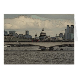 Waterloo Bridge, London Card