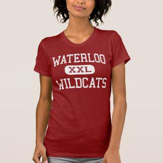 Waterloo - Wildcats - Middle - Stockton California T-Shirt