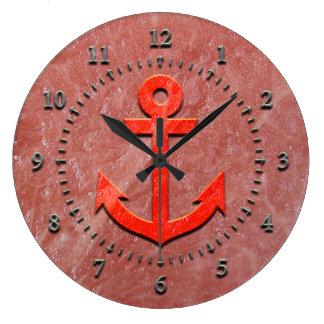 Watermelon Anchor Clock