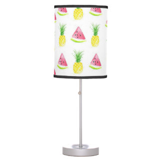 Watermelon and Pineapple Table Lamp