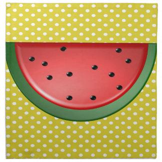 Watermelon and Polks Dots Napkin