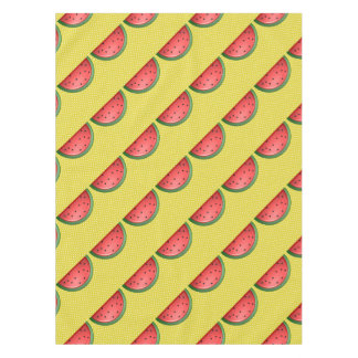 Watermelon and Polks Dots Tablecloth