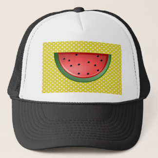 Watermelon and Polks Dots Trucker Hat