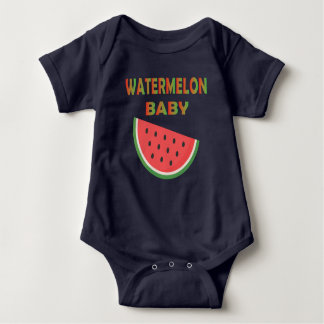 Watermelon Baby Clothing Baby Bodysuit