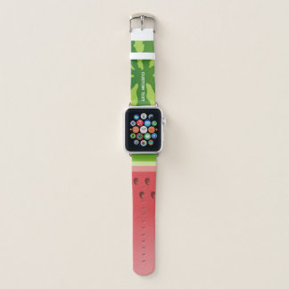 Watermelon Background Apple Watch Band