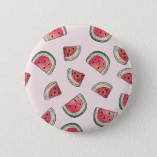 Watermelon Badge 2 Inch Round Button