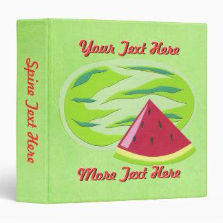 Watermelon Binder