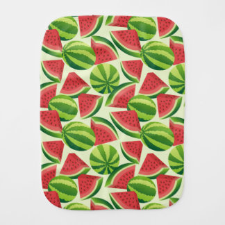 Watermelon Burp Cloth