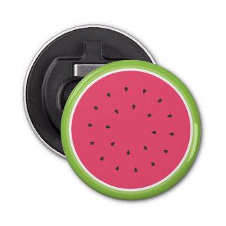 Watermelon Button Bottle Opener