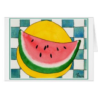 Watermelon Card