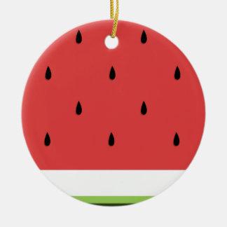 Watermelon Ceramic Ornament