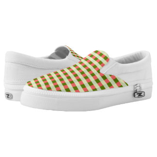 Watermelon Check Classic slip on shoes