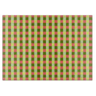 Watermelon Check cutting board