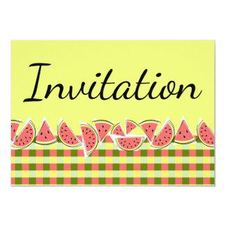 Watermelon Check Invitation