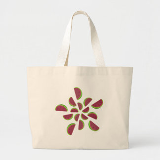 Watermelon Chew Candy Large Tote Bag