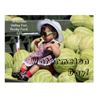 Watermelon Day! Postcard