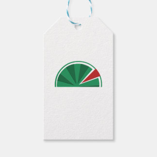watermelon design gift tags
