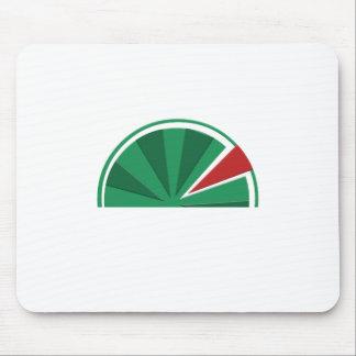 watermelon design mouse pad