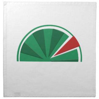 watermelon design napkin