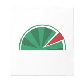watermelon design notepad