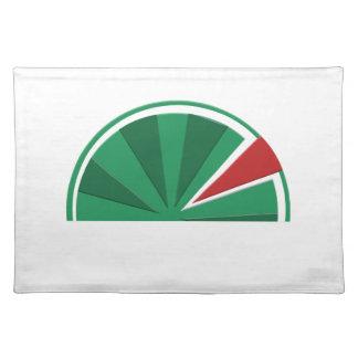watermelon design placemat