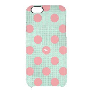 Watermelon Dots Clear iPhone 6/6S Case