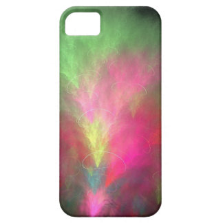 Watermelon fractal iPhone 5 covers