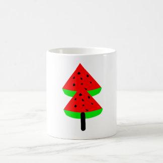 watermelon fruit coffee mug