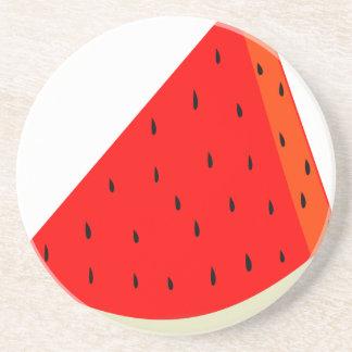 Watermelon Fruit harvest slice summer Coaster