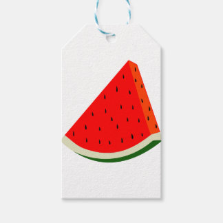 Watermelon Fruit harvest slice summer Gift Tags