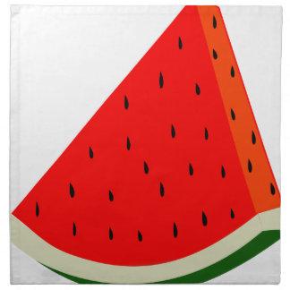 Watermelon Fruit harvest slice summer Napkin