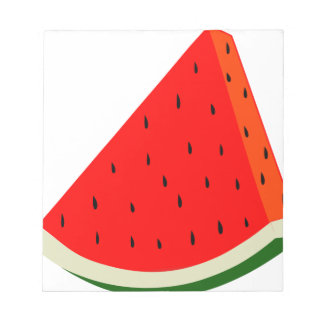 Watermelon Fruit harvest slice summer Notepad