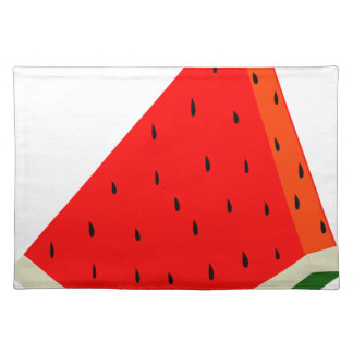 Watermelon Fruit harvest slice summer Placemat