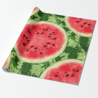 Watermelon Fruit Slice Wrapping Paper